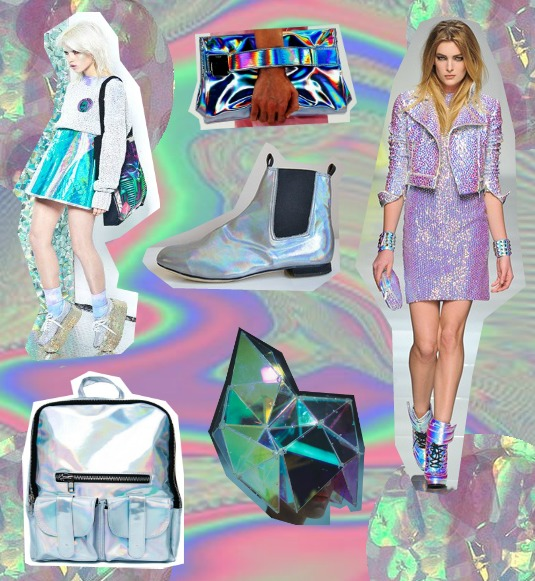 Image result for holographic fashion