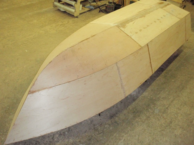 Bottom and side panels on