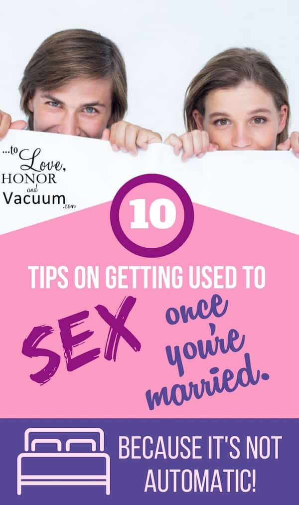Adjusting to Sex in Marriage: Getting used to something that isn't automatic!