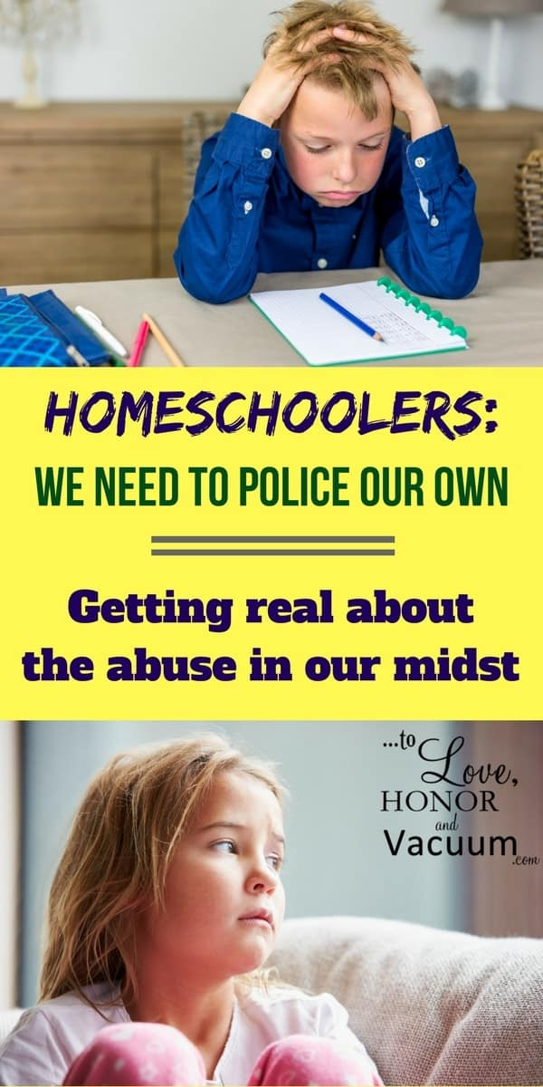 Homeschooling and Abuse: While the majority of homeschooling families are wonderful, there is a higher rate of abuse here than in the general population. What are we doing about it?