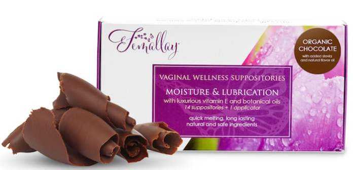Chocolate Vaginal Suppositories