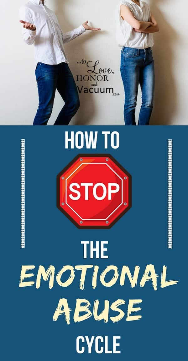 How to Stop the Emotional Abuse Cycle: How to respond when a spouse starts being abusive.