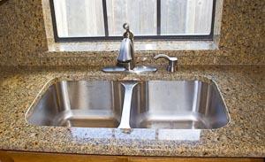 undermount sinks in granite countertops