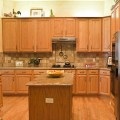 Crema bordeaux granite kitchen countertops austin