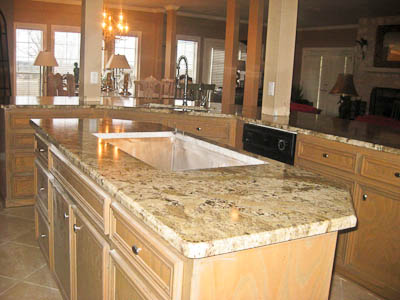 Neptune Bordeaux Granite Countertops