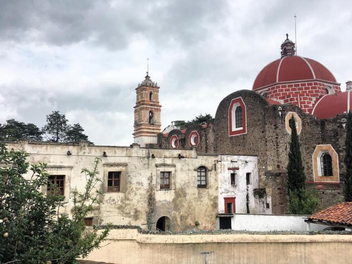 Iglesia de Nuestra Señora de los Ángeles Tecaxic