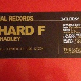 EXCLUSIVE: Richard F, live @ Lovezoo, Nottingham 31.01.2004 Part 2 of 2