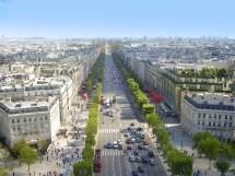 Paris Les-champs-elysees.72743 Tomahawk Mopeds