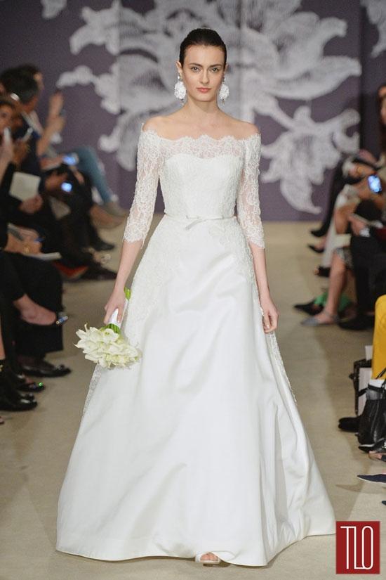 Carolina Herrera Spring 2015 Bridal Collection  Tom  Lorenzo