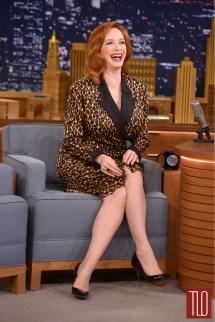 "Christina Hendricks "" Tonight Show Starring Jimmy"