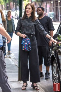"Anne Hathaway Set Of "" Intern"" Tom Lorenzo"