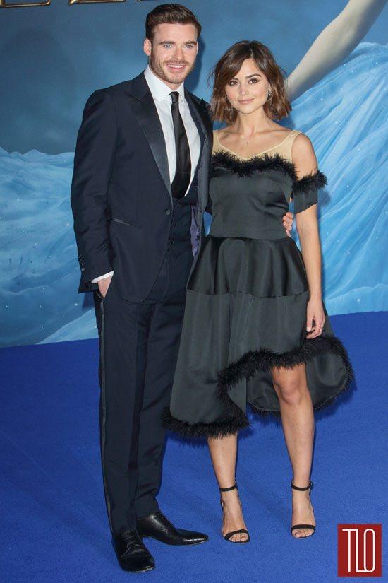 Richard Madden And Jenna Coleman At The Cinderella UK