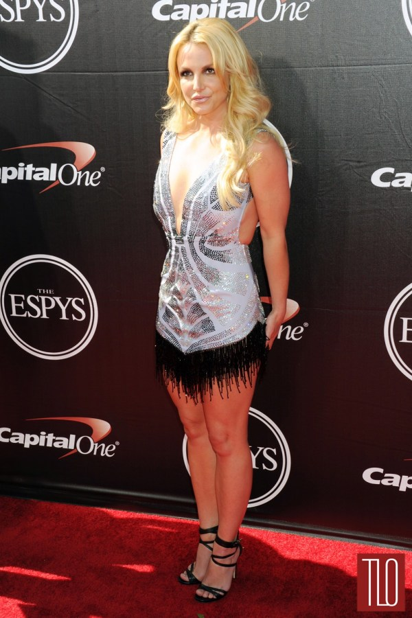Britney Spears In Davidson Zanine 2015 Espys Tom