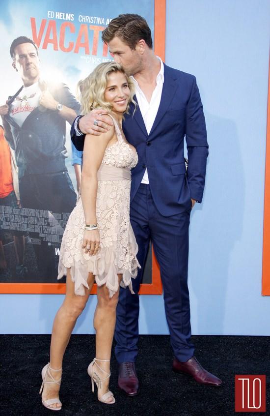 Chris Hemsworth And Elsa Pataky At The Vacation Los Angeles Premiere Tom Lorenzo