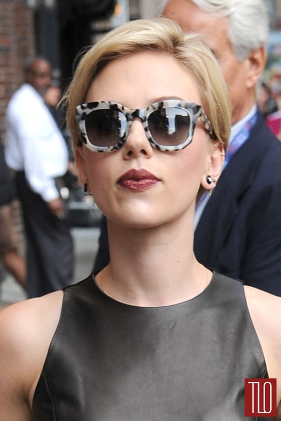 IN Or OUT Scarlett Johansson In Michael Kors On The Late
