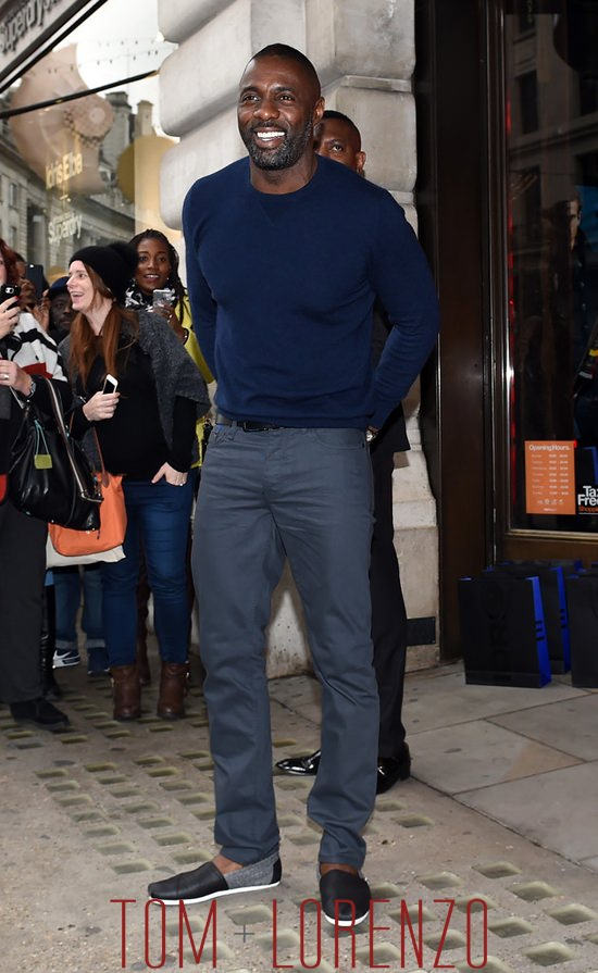 Idris Elba at the Superdry Fall 2015 Launch Party  Tom