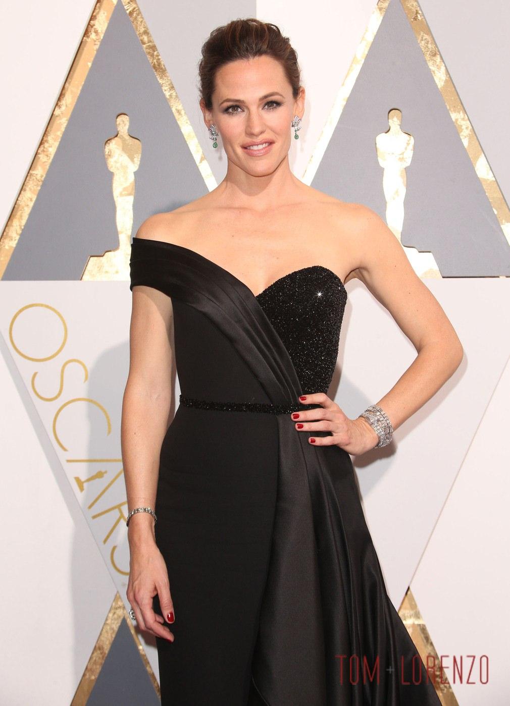 Oscars 2016 Jennifer Garner In Atelier Versace Tom