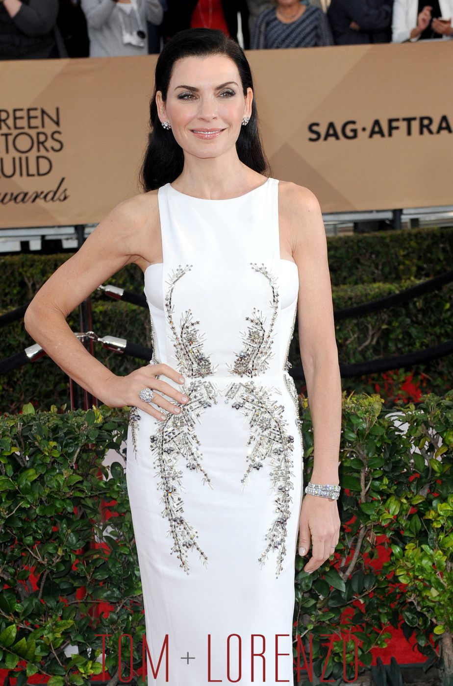 SAG Awards 2016 Julianna Margulies In Antonio Berardi