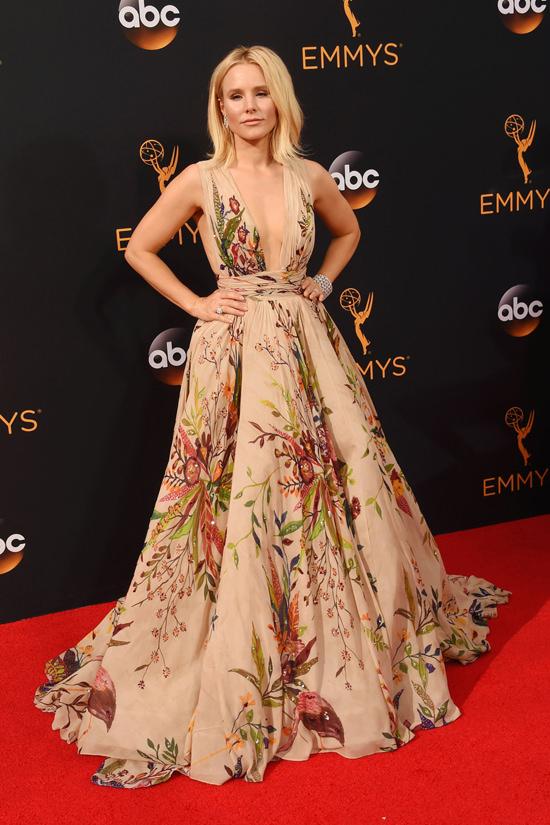 2016 Emmys Kristen Bell in Zuhair Murad Couture  Tom  Lorenzo