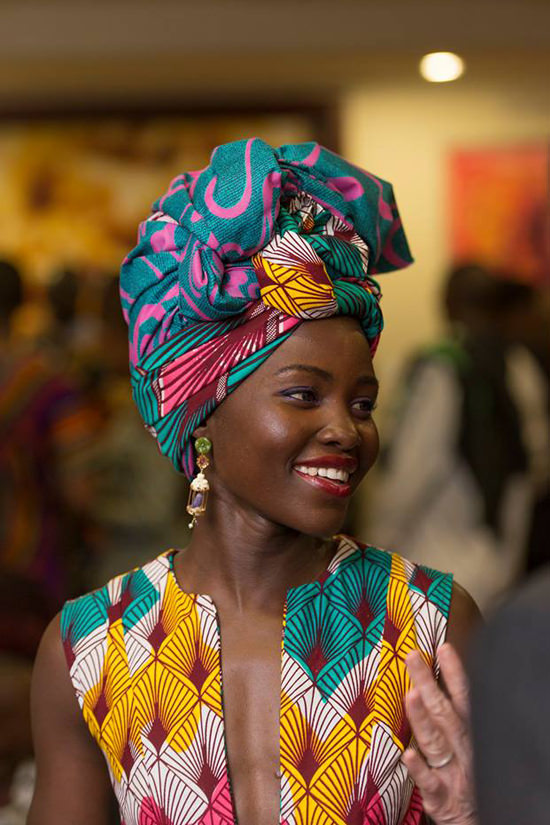 Image result for lupita nyong'o head wrap
