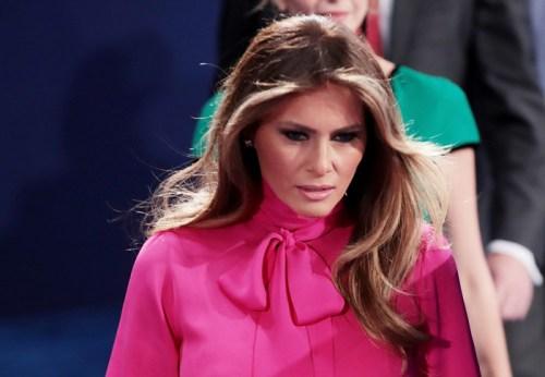 Melania Trump Pussy Bow