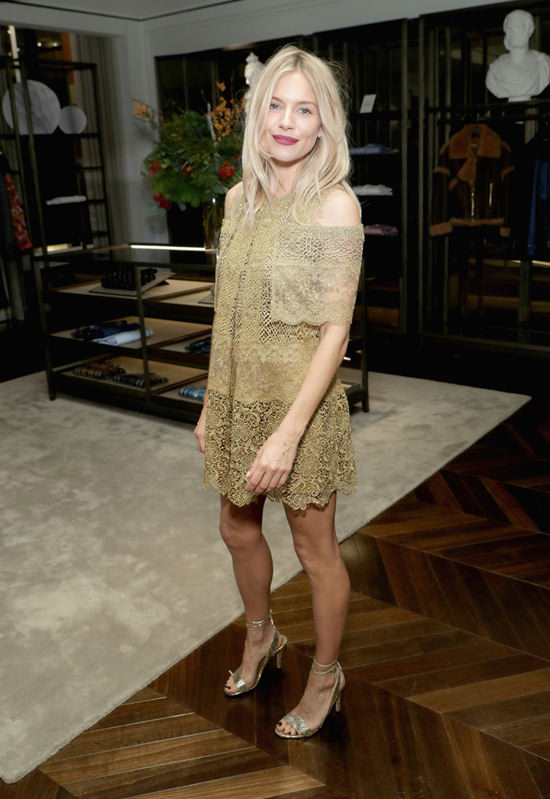 Dominic West And Sienna Miller Celebrate The Tale Of