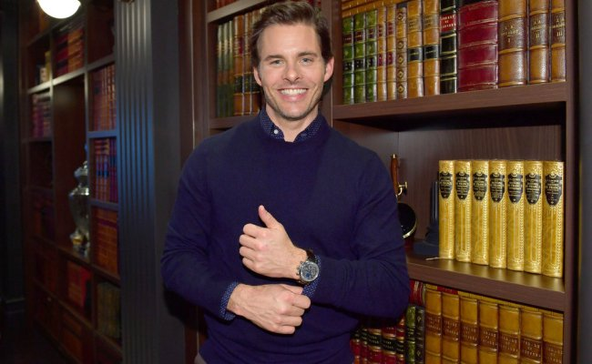James Marsden Is A Watch Model Now And We Re Totally Fine