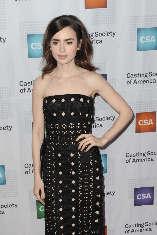 lily collins in alberta