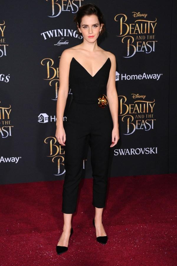 Beauty and Beast Emma Watson Red Carpet