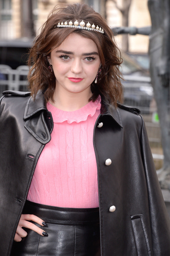 Maisie Williams Is Too Much At The Miu Miu Fall 2017