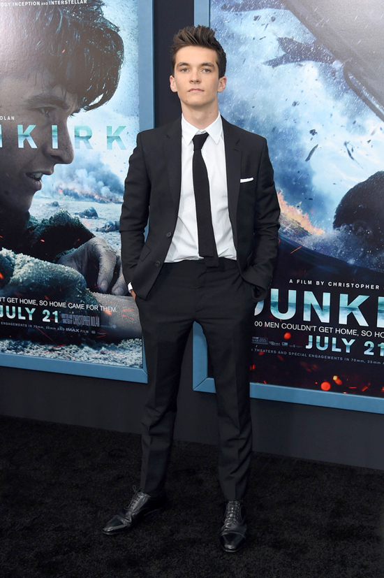 Harry Styles at the Dunkirk NY Premiere also the rest of the cast of Dunkirk  Tom  Lorenzo