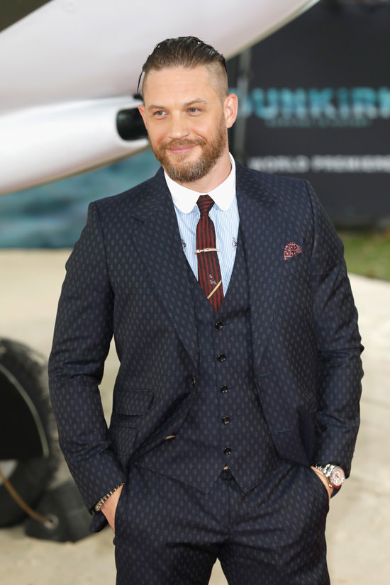 Tom Hardy In Gucci At The Dunkirk World Premiere Is What