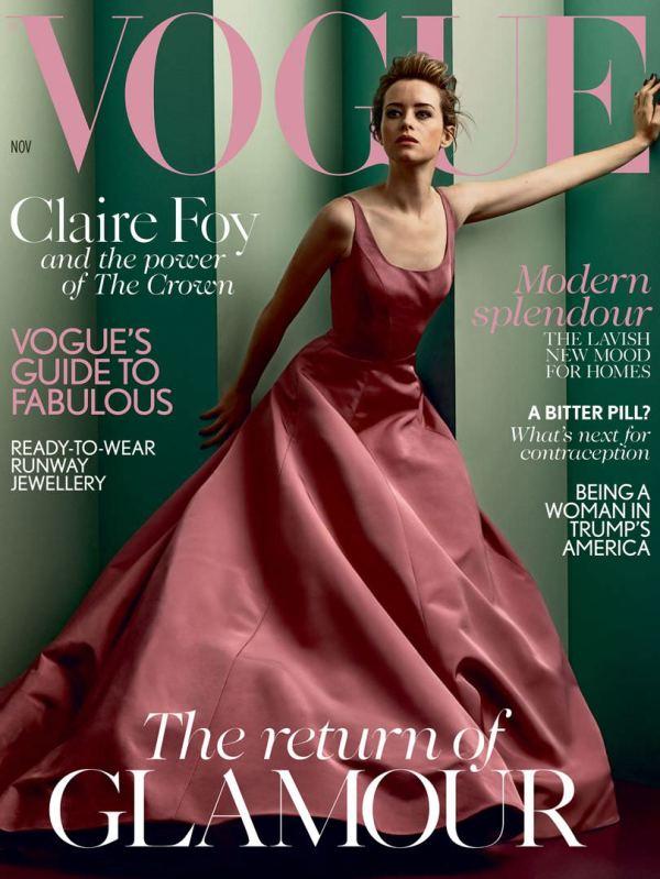 Vogue Magazine Cover November 2017