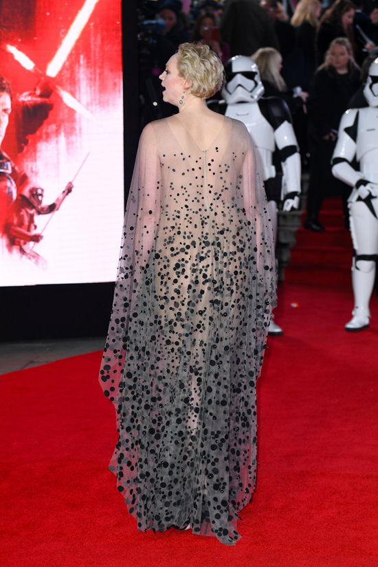 Gwendoline Christie Brings Big Drama To The Star Wars