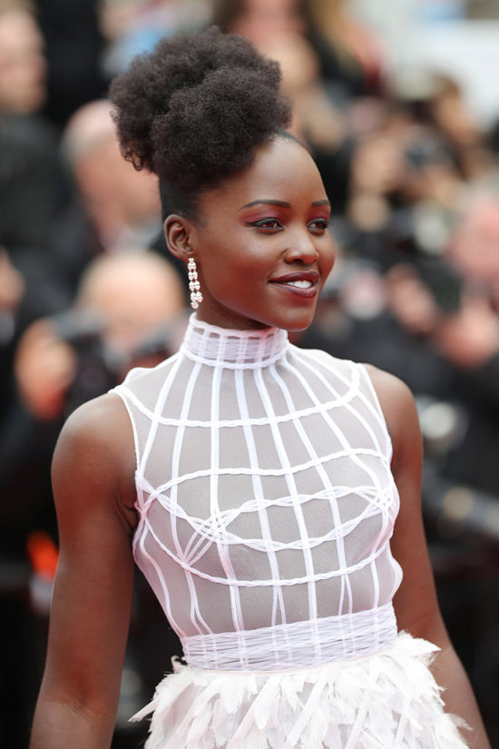 Cannes 2018 Lupita Nyongo In Dior Couture At The Cold