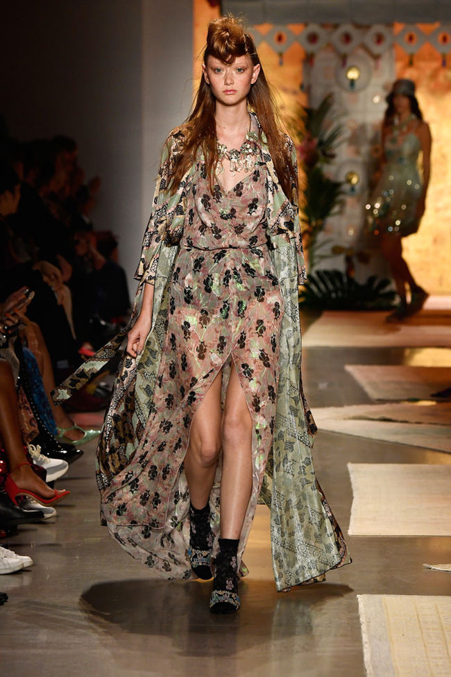 New York Fashion Week Anna Sui Spring 2019 Collection