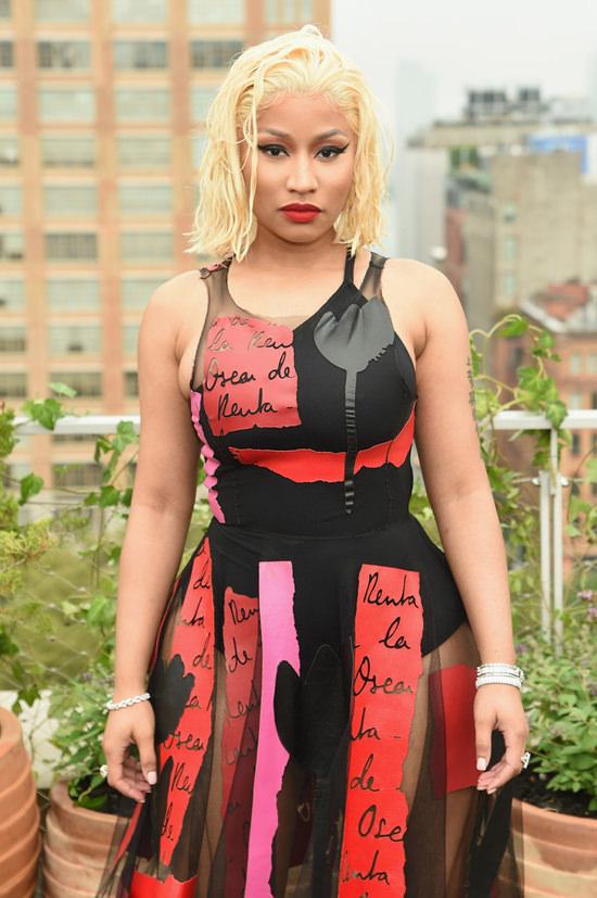 New York Fashion Week Nicki Minaj Sells It With A Look At
