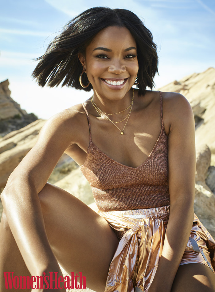 Gabrielle Union Covers Womens Health Magazine Tom Lorenzo