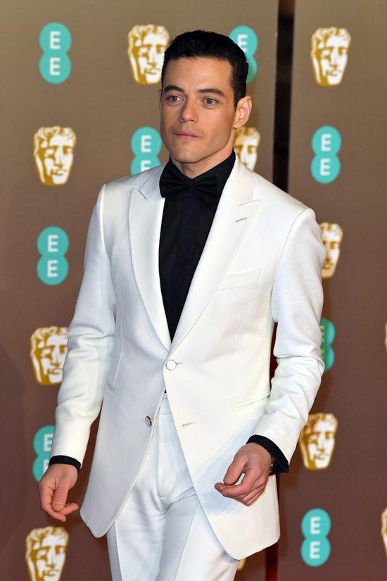 BAFTA Awards 2019 Rami Malek In Louis Vuitton Tom Lorenzo
