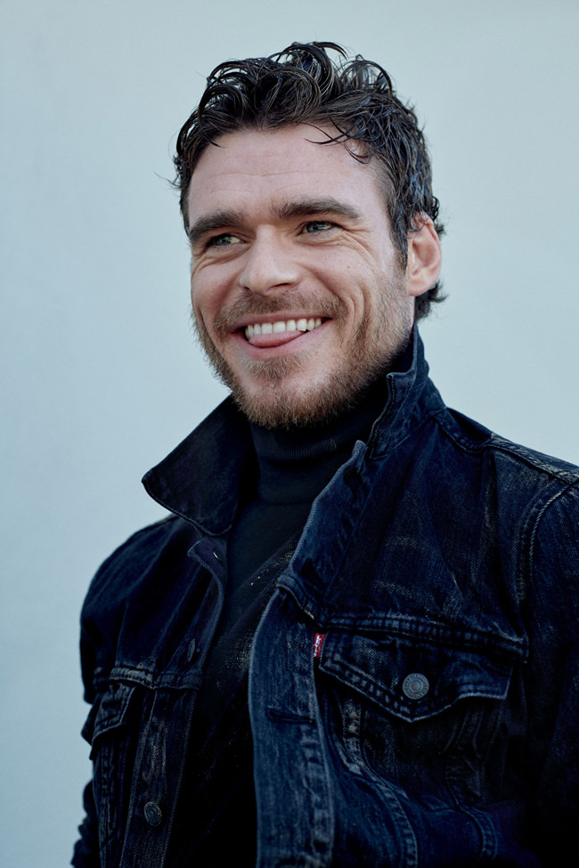 """Game of Thrones"" and ""Bodyguard"" Star Richard Madden for ..."