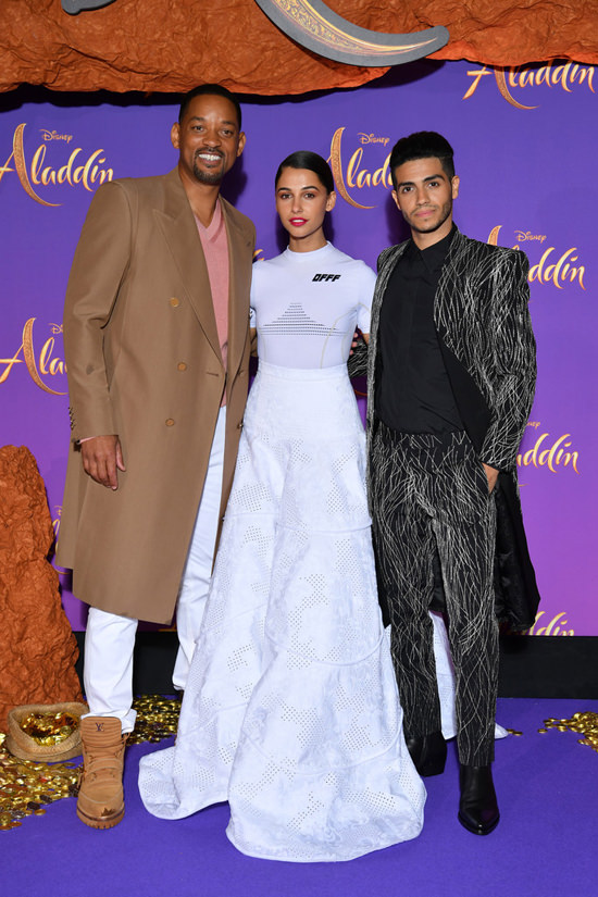 Image result for will smith red carpet aladdin