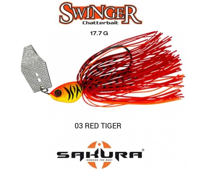 Amostra Chaterbait Sakura Swinger