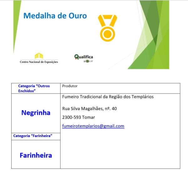 enchidos MEDALHA DE OURO