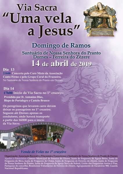 14 4 Cartaz2019 uma vela a jesus 1