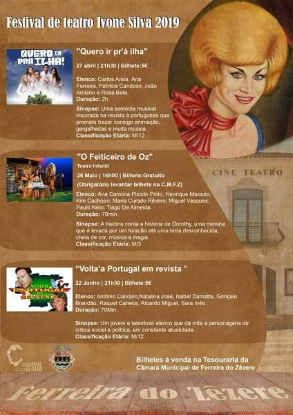 27 4 Cartaz Teatro Ivone Silva