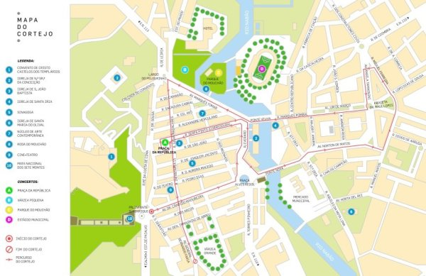 tabuleiros mapa percurso cortejo 1