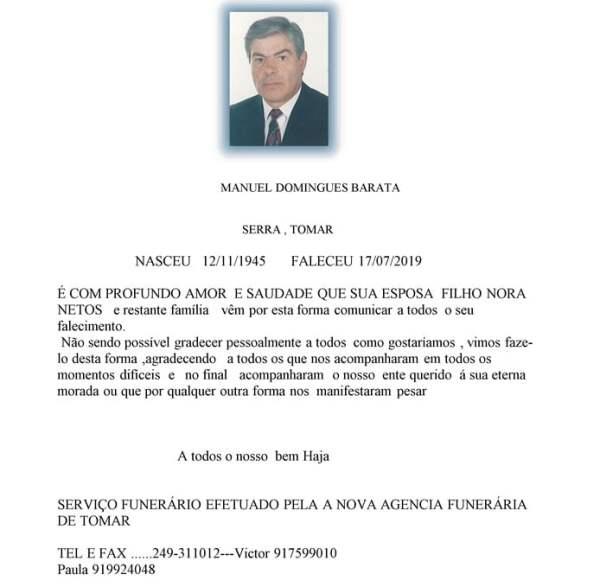 MANUEL DOMINGUES BARATA
