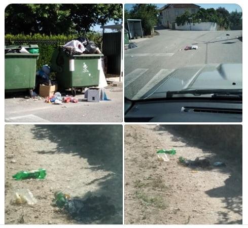 lixo vila nova