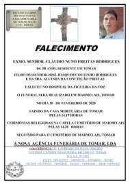 CLAUDIO NUNO FREITAS RODRIGUES