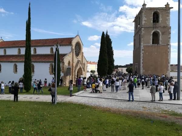 funeral igreja santa maria olival IMG 20200821 154113